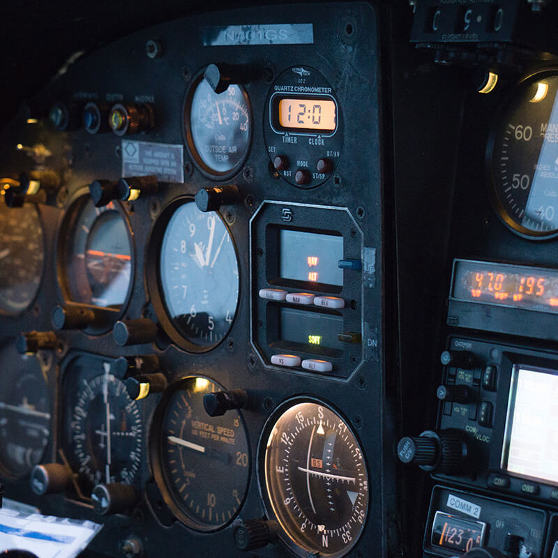 AV Research Cockpitinstruments